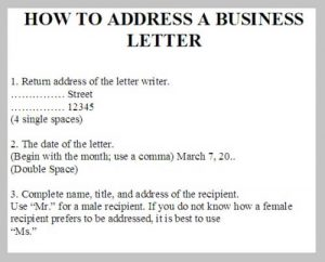 How to Address a Business Letter to a Company