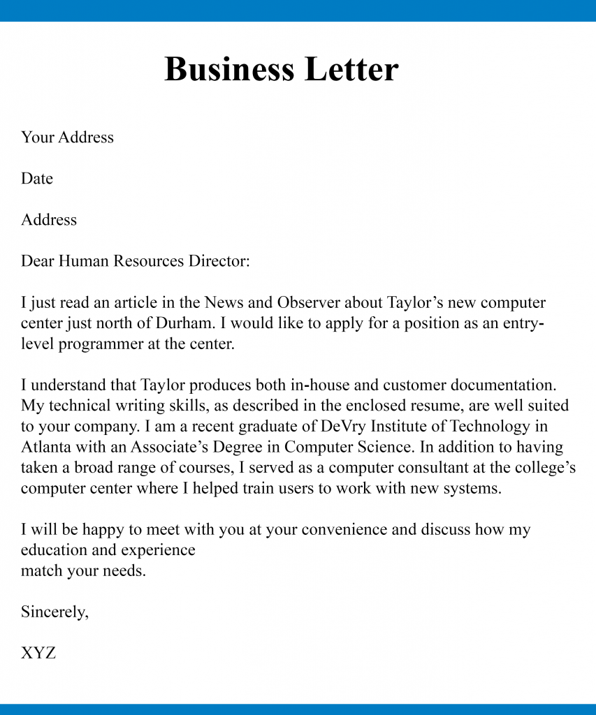 How to Start a Business Letter Greeting