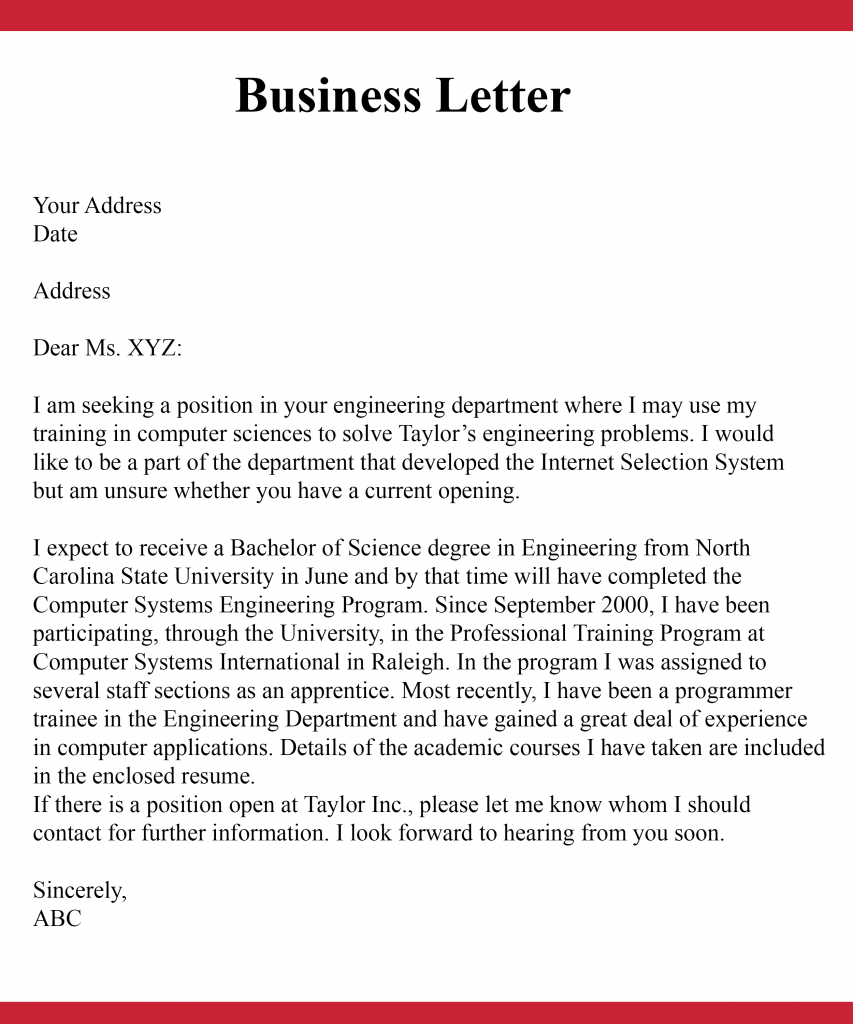 How to Start a Business Letter Introduction